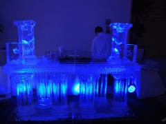 Bar lodowy na terenie Warszawy